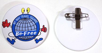 ビニール製バッジ印刷 ビニール製ワッペン印刷
