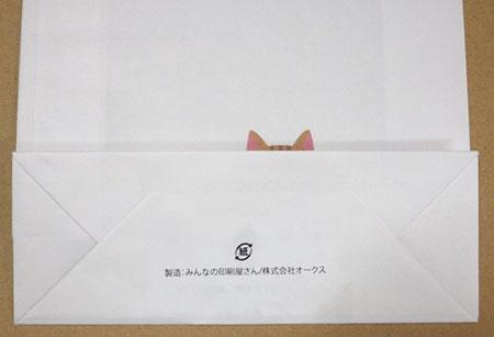 角底紙袋印刷 社名入れ割引