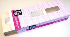 ティッシュボックスカバー印刷