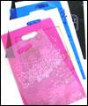 ポリ袋印刷(小判抜き)、手穴ポリ袋印刷