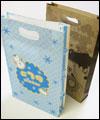 手穴紙袋印刷、小判抜き紙袋印刷