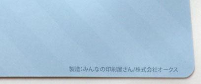 フラットファイル印刷、レターファイル印刷 社名入れ