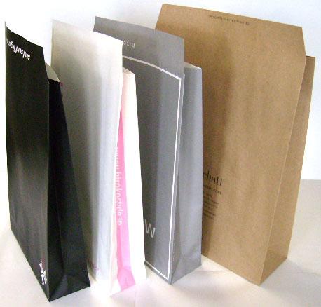宅配紙袋、通販紙袋