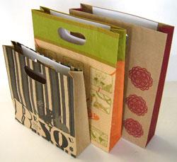 紙袋印刷 小判抜き手穴